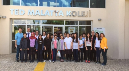 THE STUDENTS OF TED AND ATATURK MIDDLE SCHOOL ARE AT INTERNATIONAL GAUSS MATHS CONTEST…