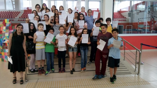 OUR STUDENTS GOT THEIR GOETHE EXAM CERTIFICATES